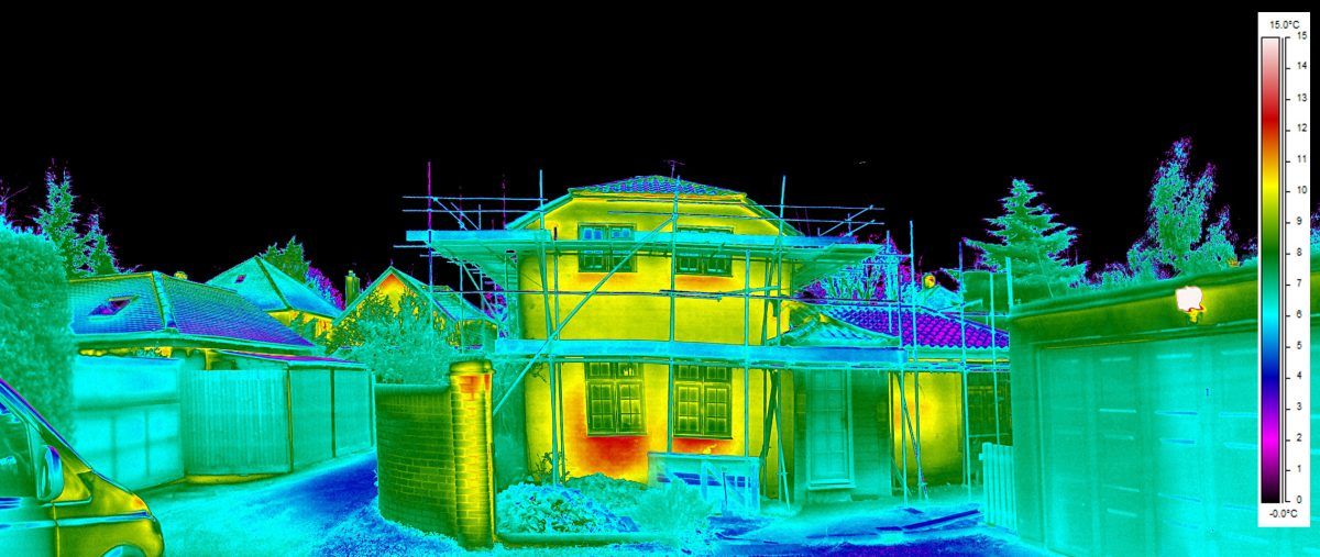project manager construction energy reviews and advice thermal image