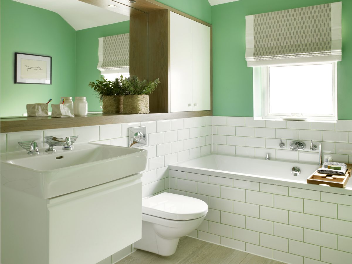 SW London Basement Extension family bathroom