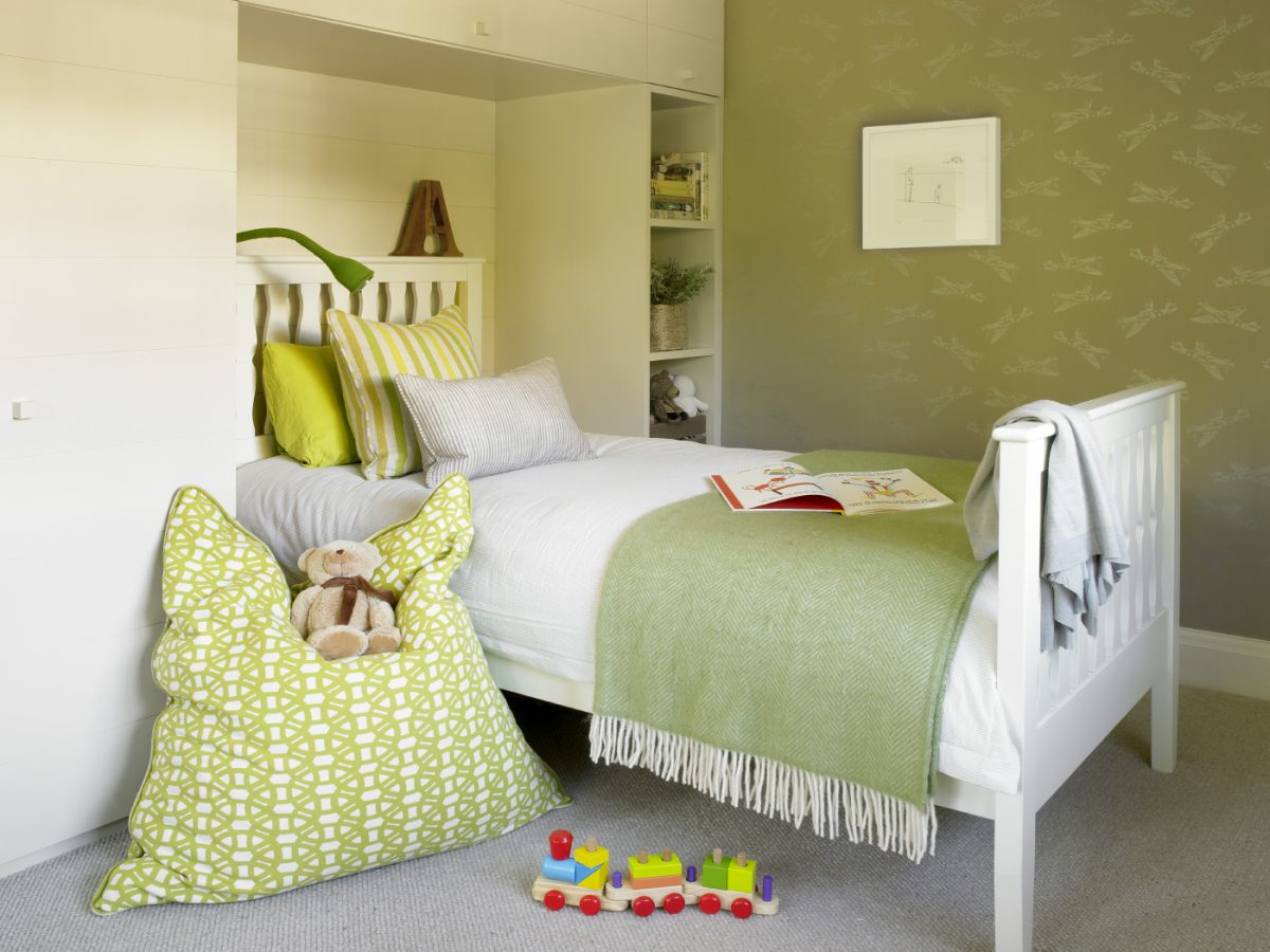 SW London Basement Extension child's bedroom