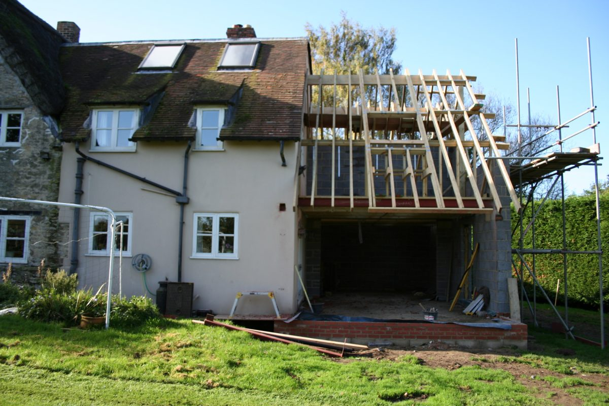 House extension project management expert support from for House projects