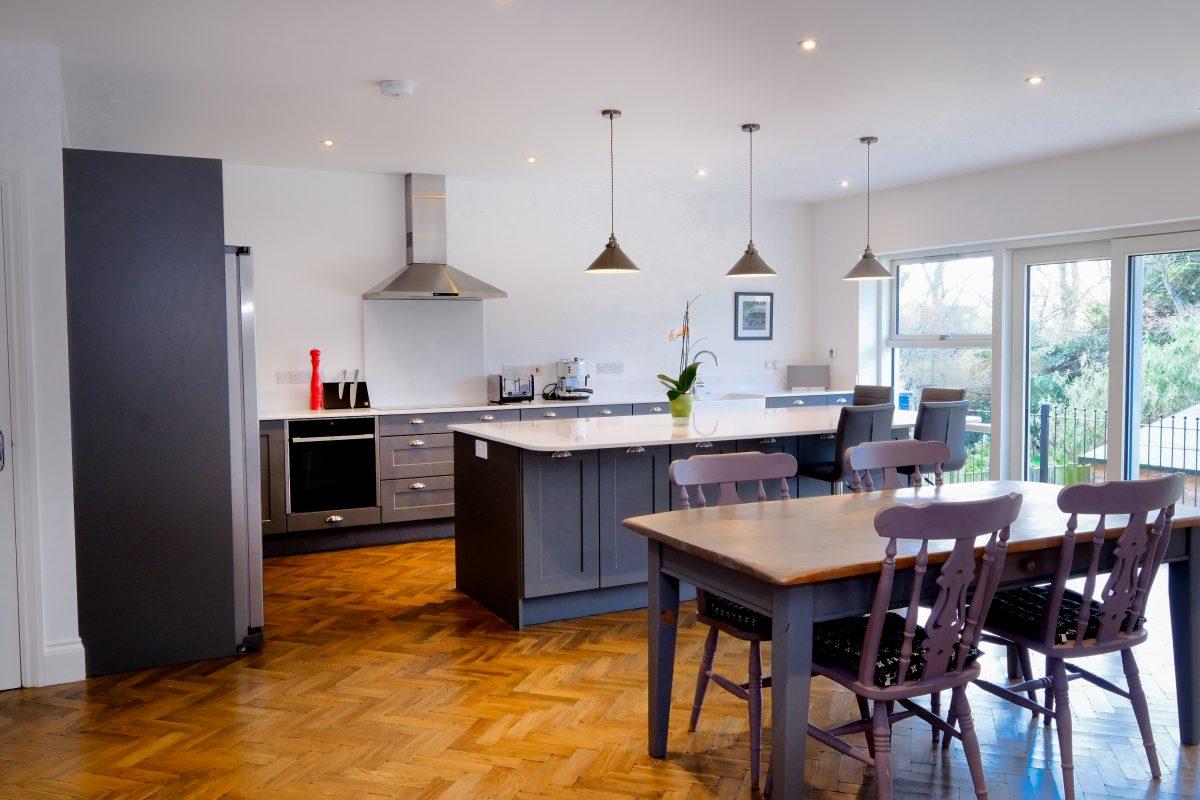 house renovation project management kitchen