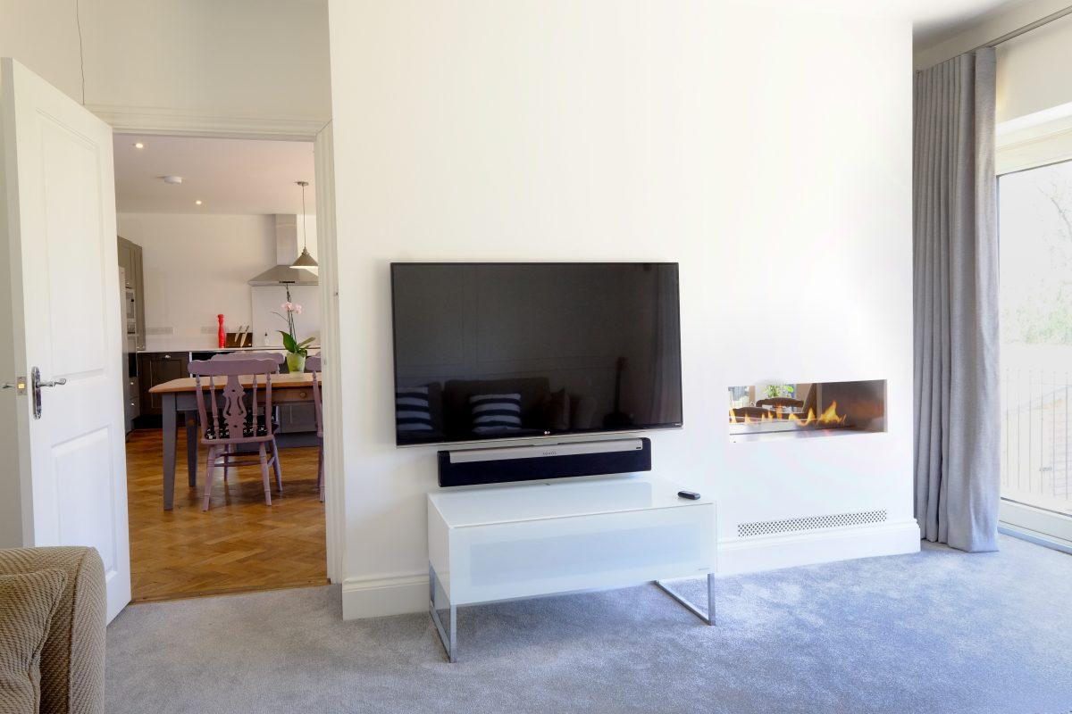 house renovation project management open plan