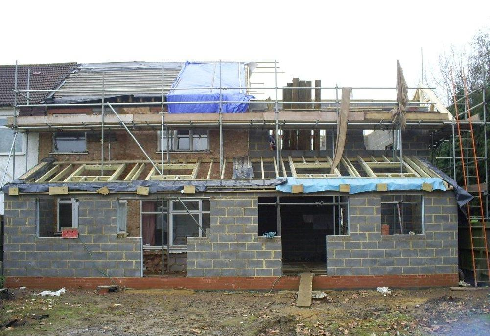 Building a house project management
