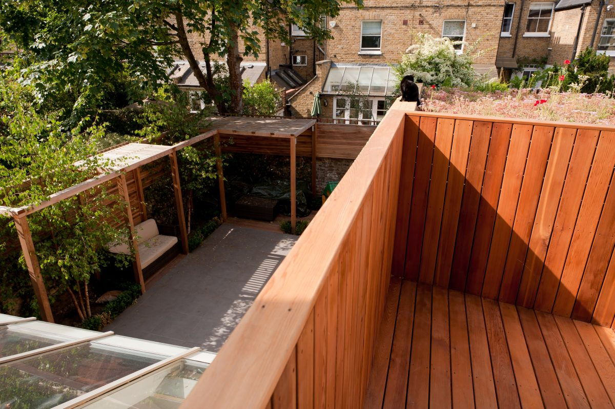 Project Manager Basement Extension new balcony