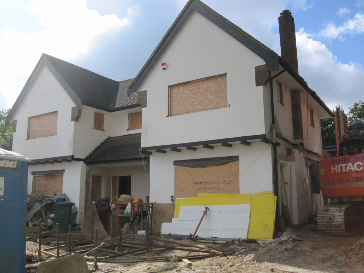 Property Refurbishment Project Manager | new build construction frontage