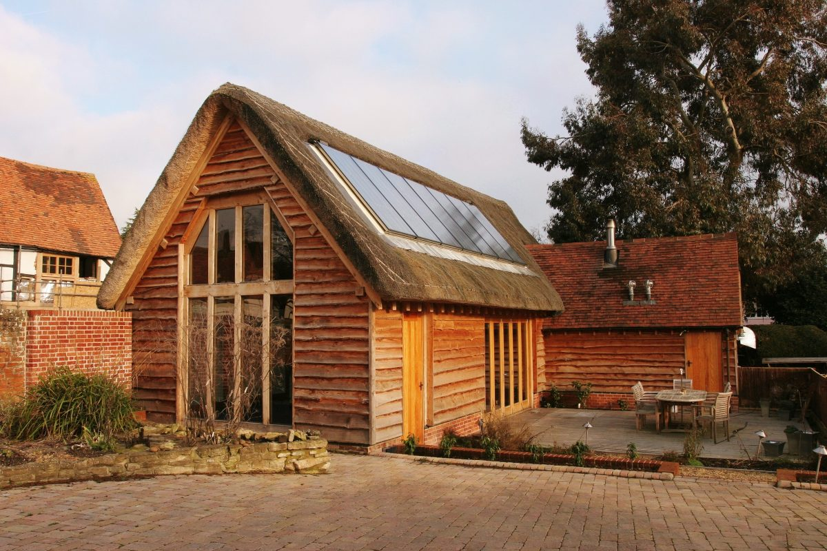 Timber frame project management for self build clpm ltd for Timber frame exteriors