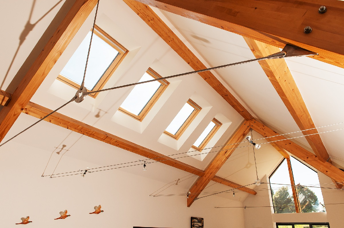 eco refurbishment project management vaulted ceilings
