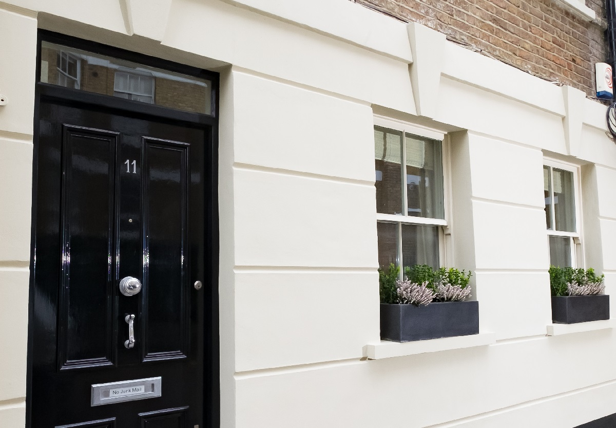 Renovation project management services London new exterior