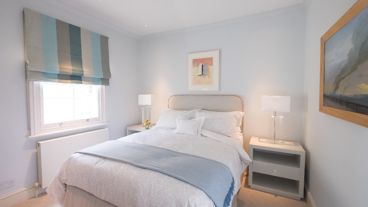 Renovation project management services London master bedroom