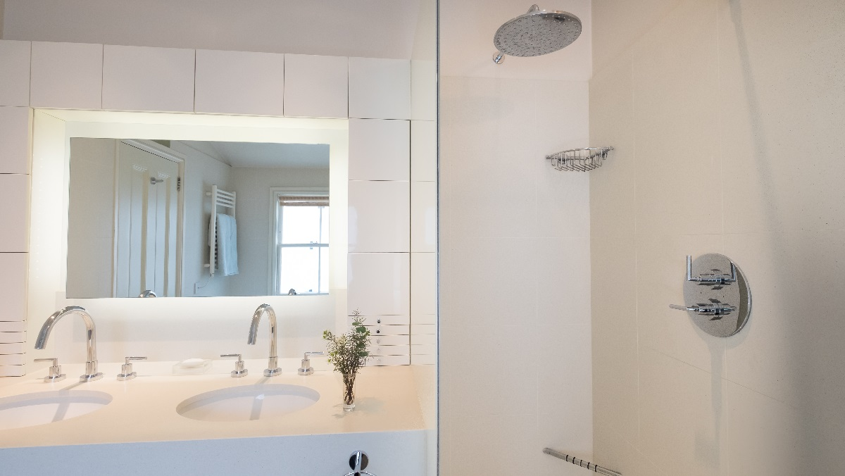 Renovation project management services London bathroom basins