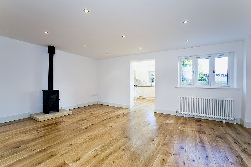Residential project management company wood burning stove heating