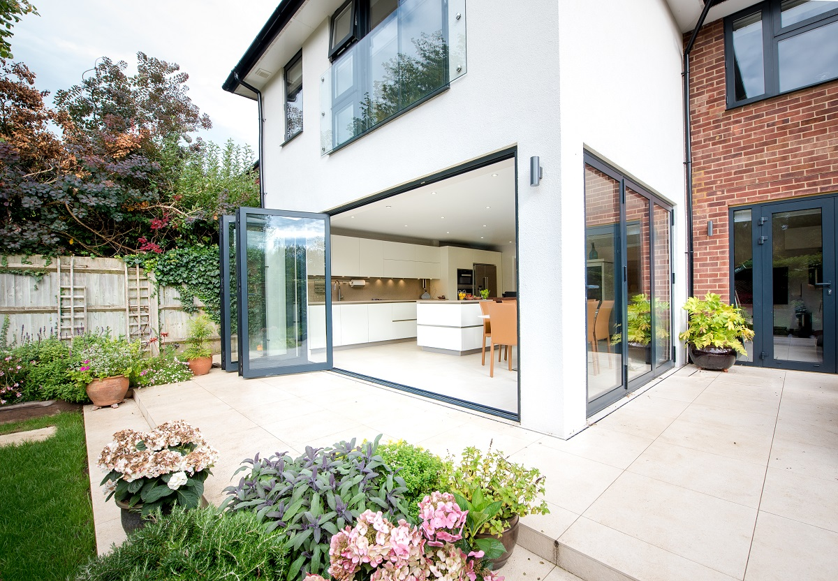 Leatherhead double storey extension rear