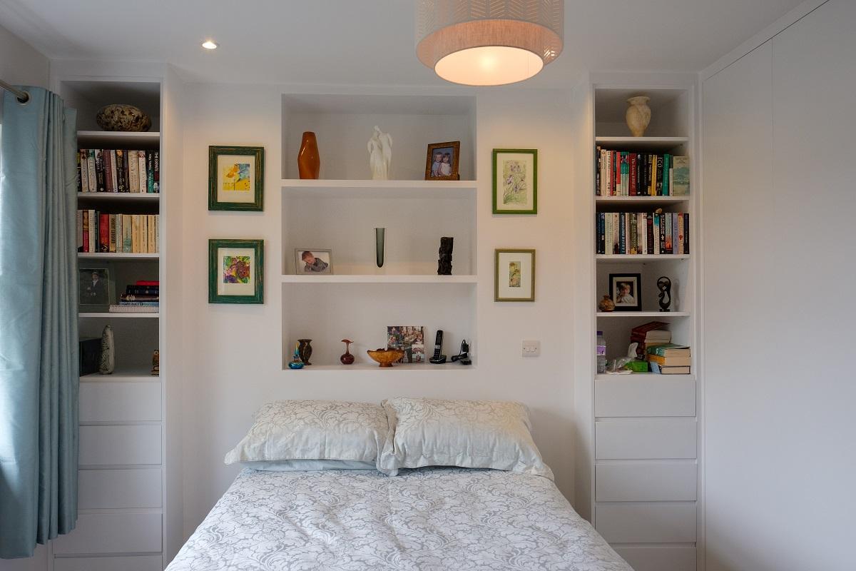 Leatherhead double storey extension bedroom 1
