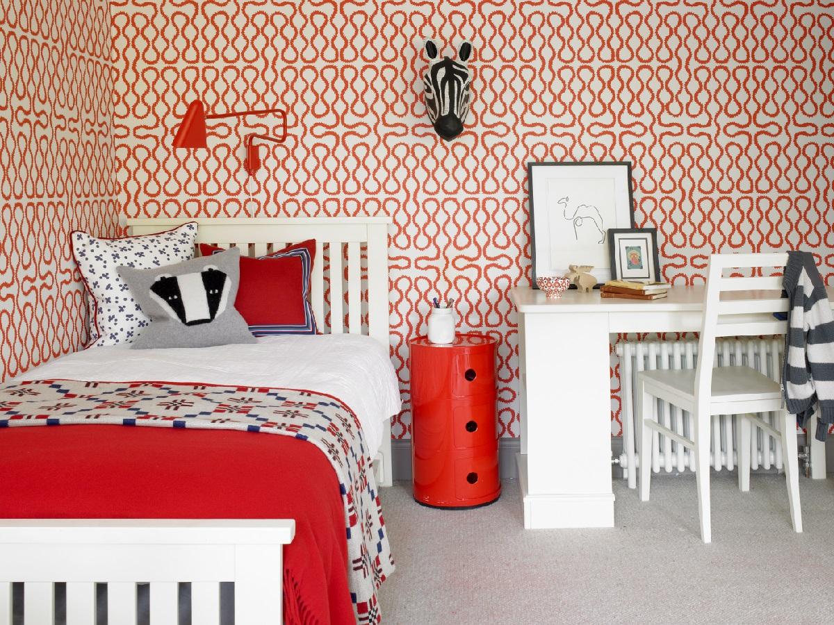 SW London basement extension children's bedroom