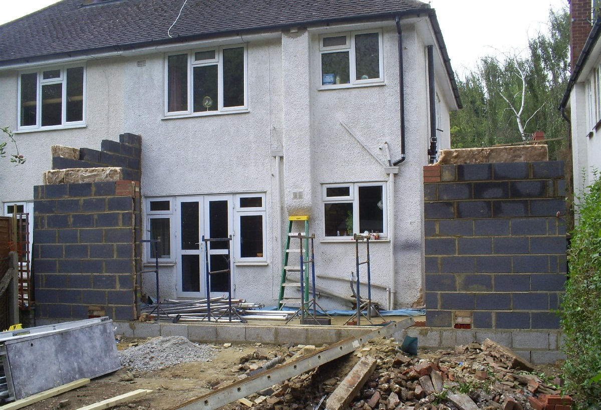 wraparound extension building project management before
