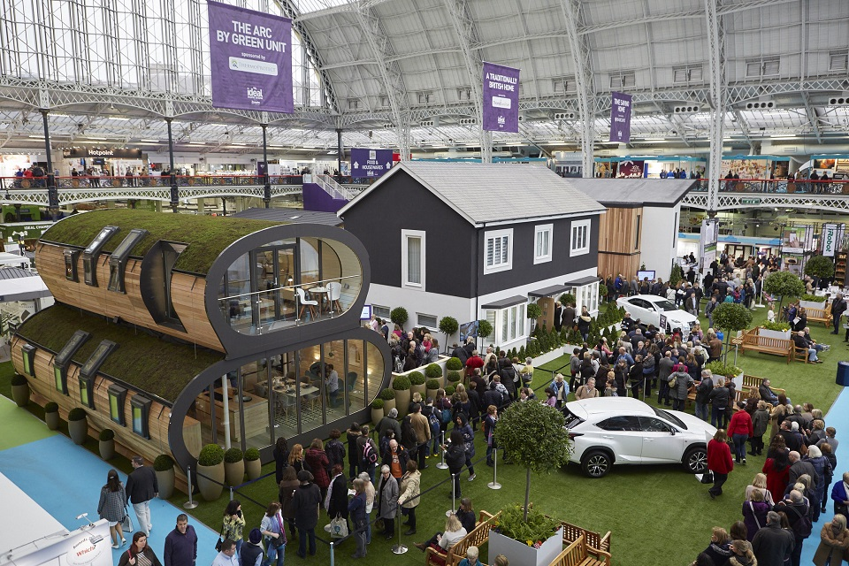 CLPM Home Renovation Advice Experts at Ideal Home Show
