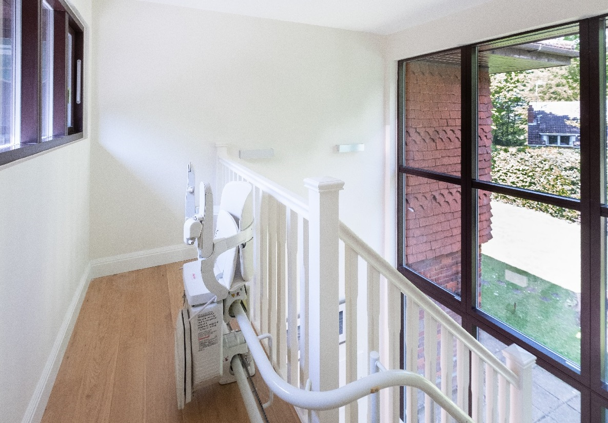 Hertfordshire Home Adaptation Project stairlift