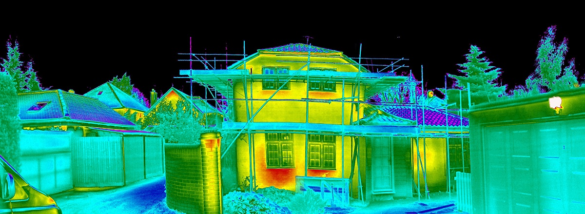 energy and sustainability consultancy CLPM thermal image