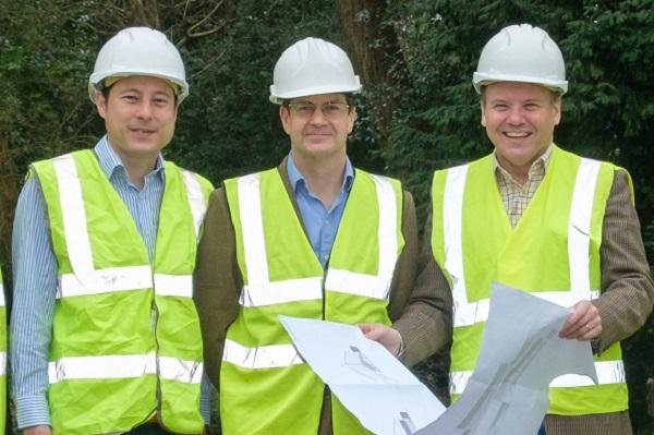 building project management Hampshire landscape