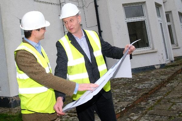 building project management Surrey landscape