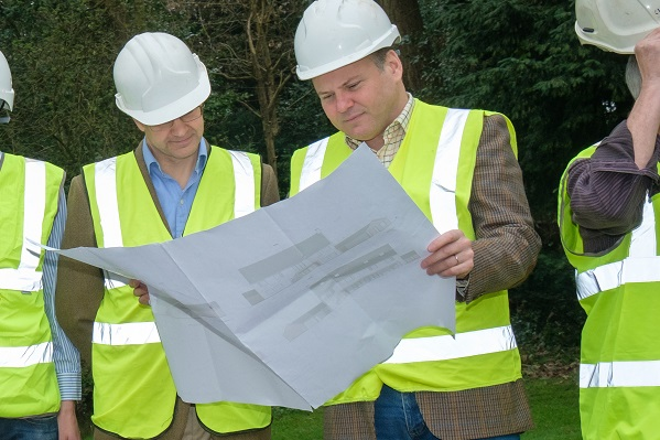 building project management Surrey landscape