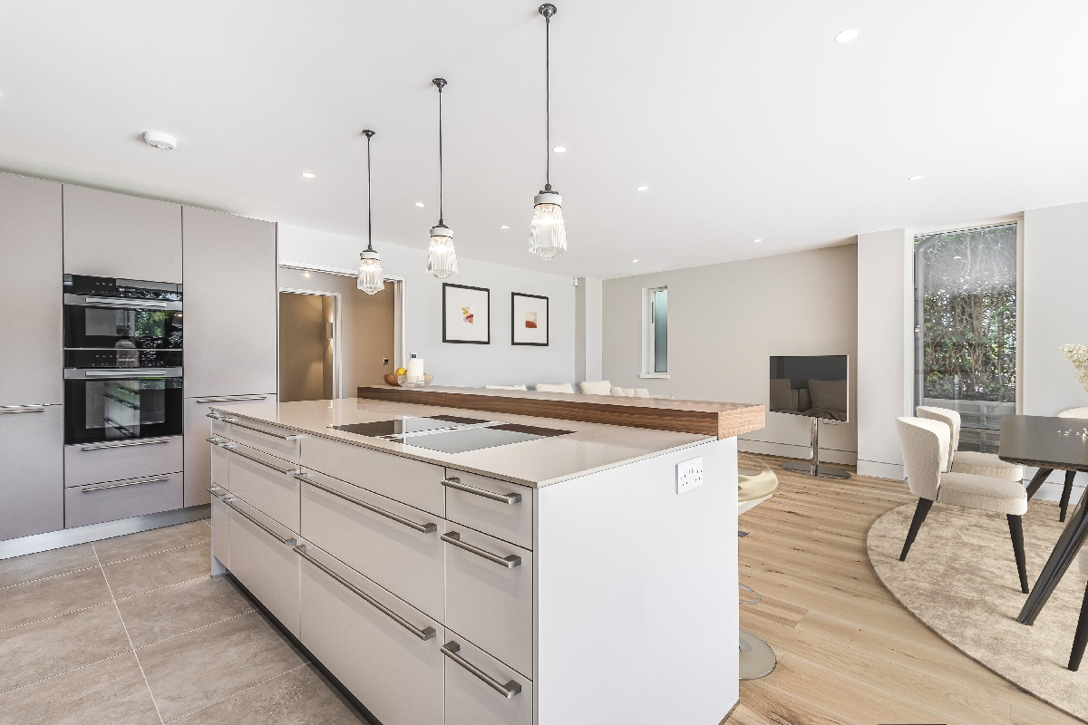 New Build Home Hertfordshire kitchen