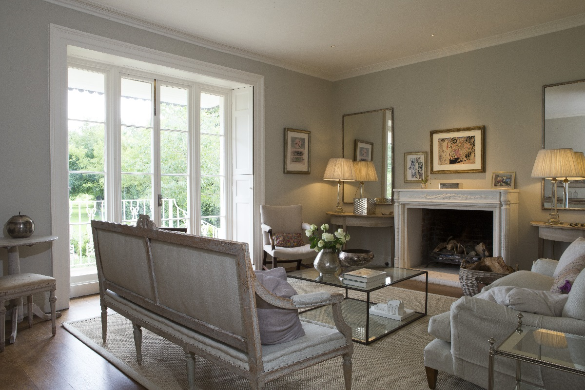 rectory renovation oxfordshire drawing room