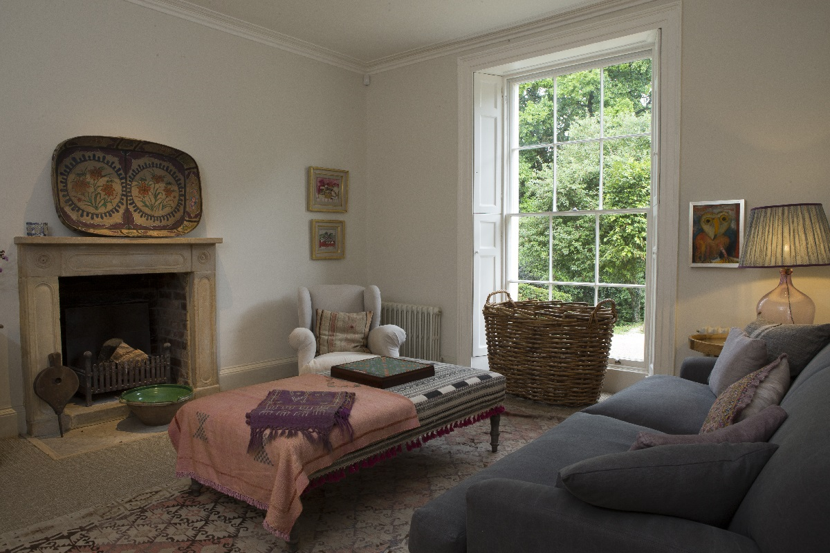 rectory renovation oxfordshire sitting room