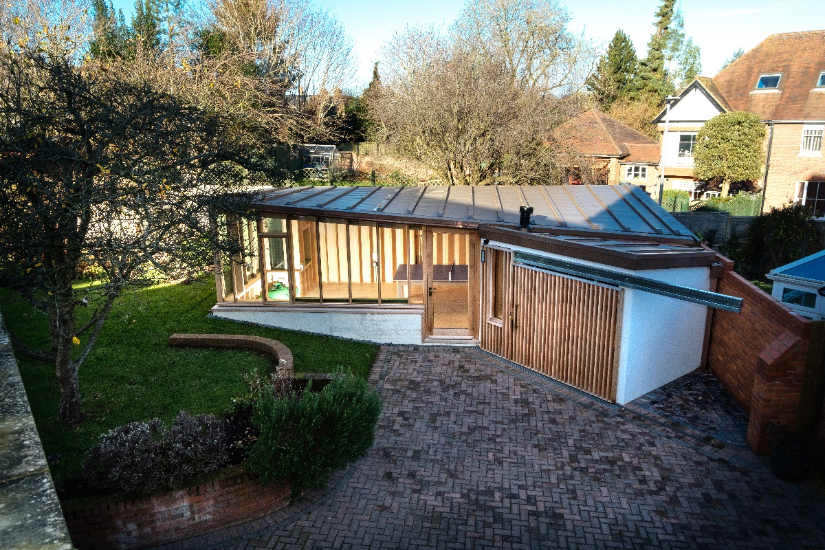 bespoke garden building